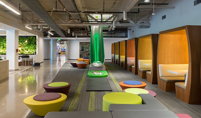 Godaddy's office space