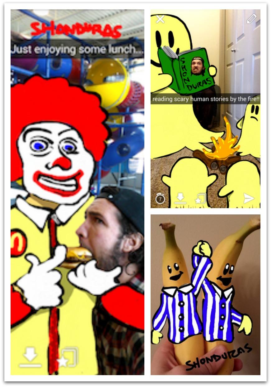 Easy Funny Snapchat Drawing Ideas Bloggertricksandtipscom