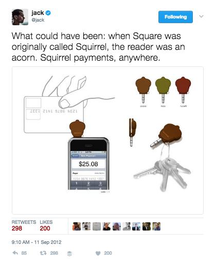 Square brand name
