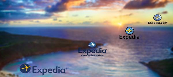 Expedia logos
