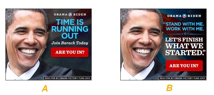 Obama A/B Test