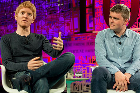 John and Patrick Collison
