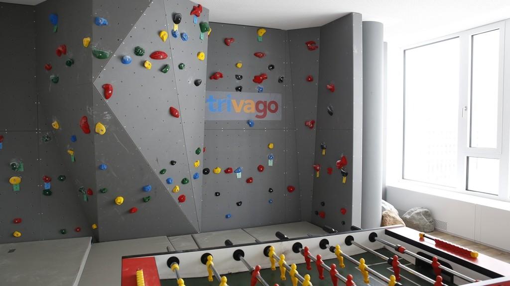 Trivago Climbing Wall