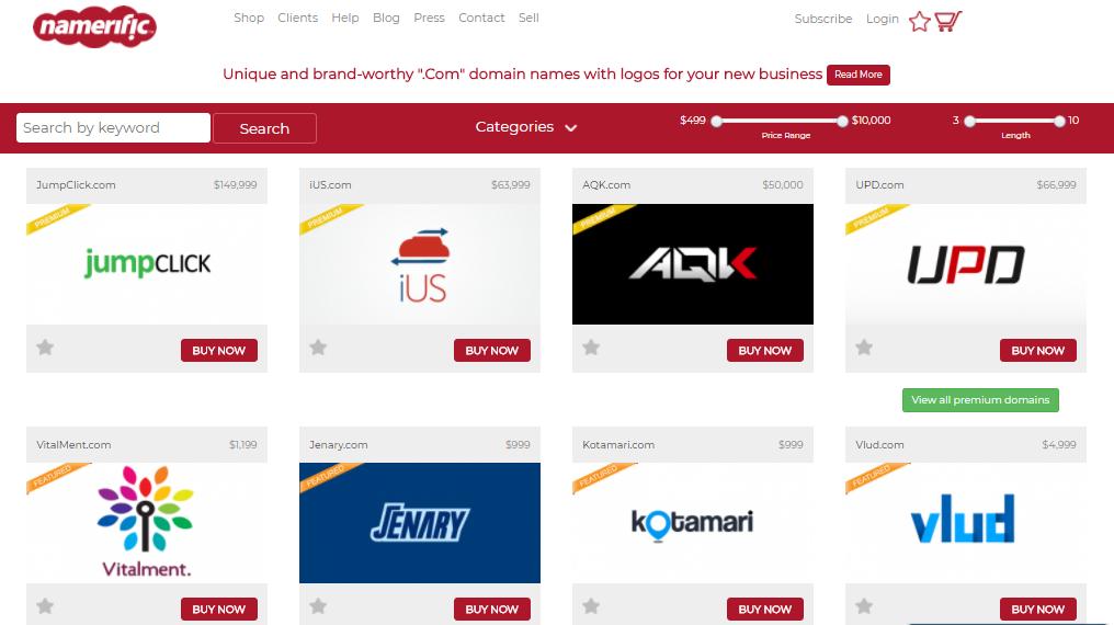 domain name marketplaces