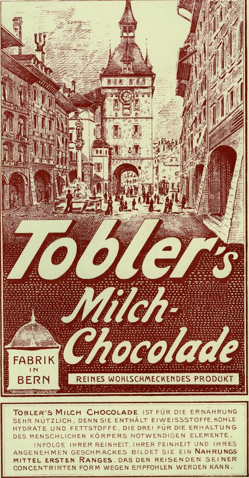 History of Toblerone