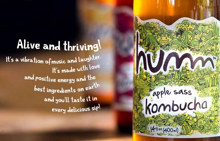 Humm Kombucha Brand Name