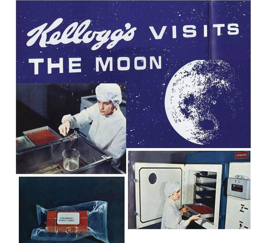 Kellogg's visits the moon