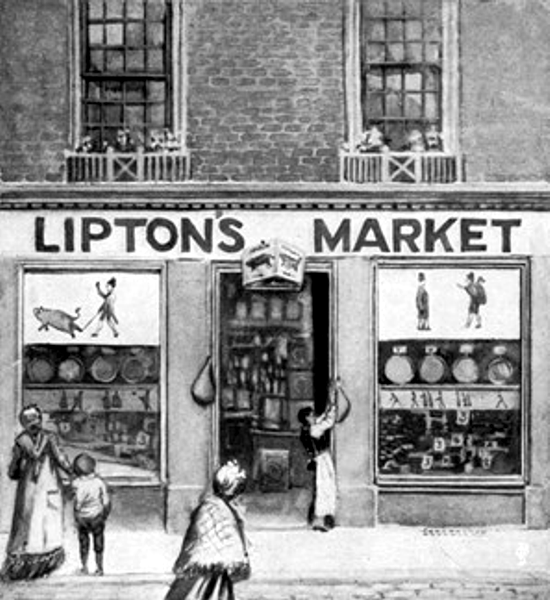 First Lipton Store