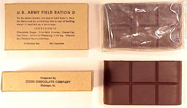 Field Ration D bar Chocolate Bar