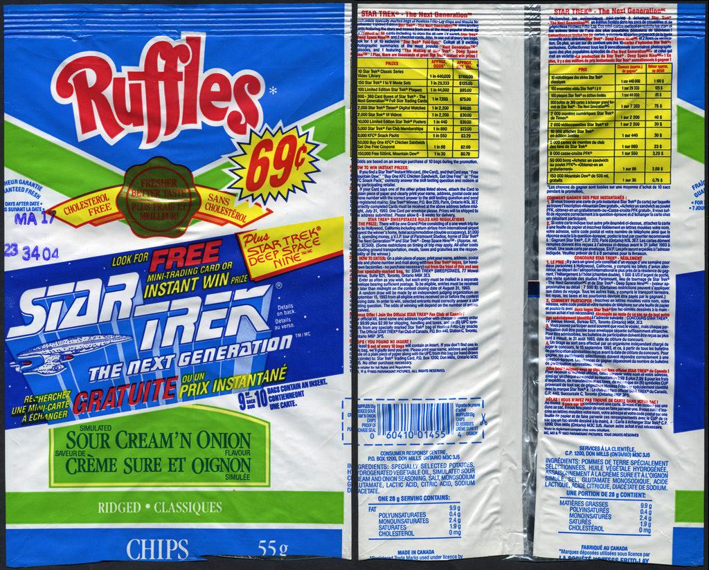 How Ruffles got their name