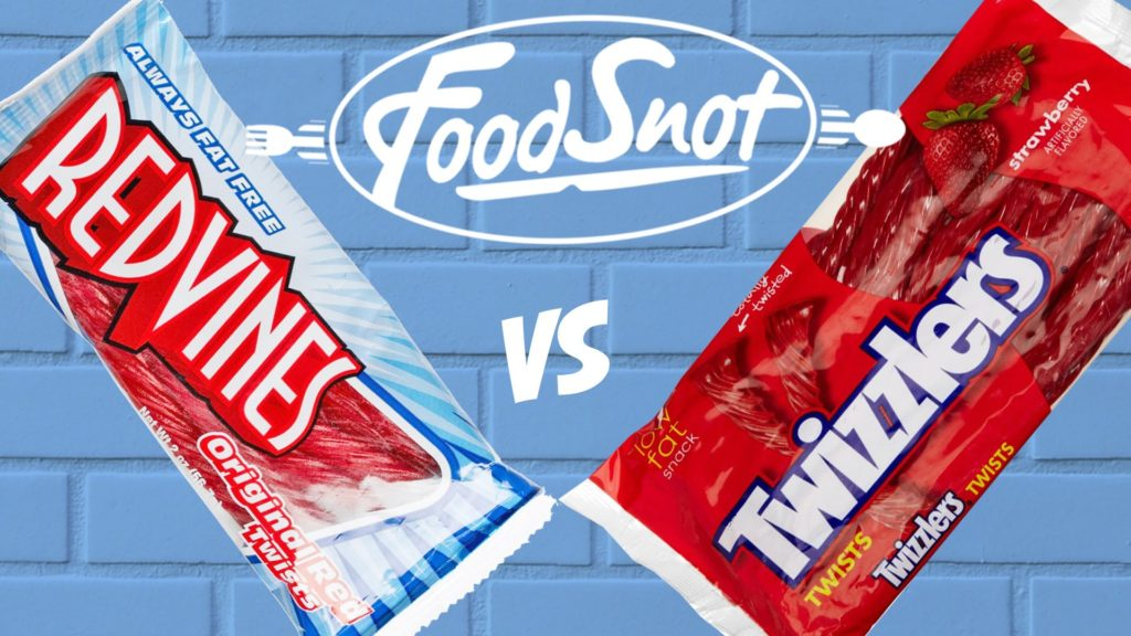Red vines vs Twizzlers