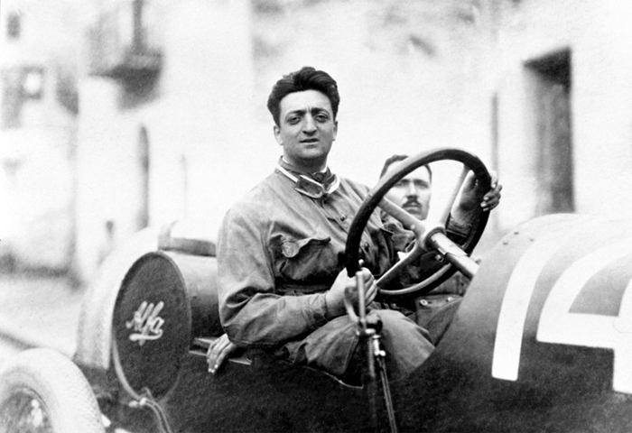 Enzo Ferrari Founder of Ferrari cars