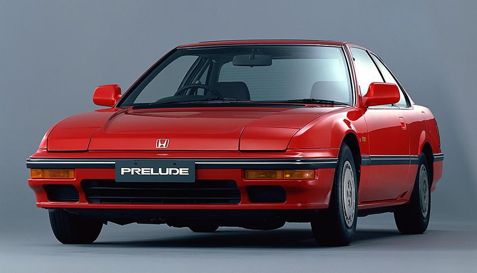 Old Honda Prelude