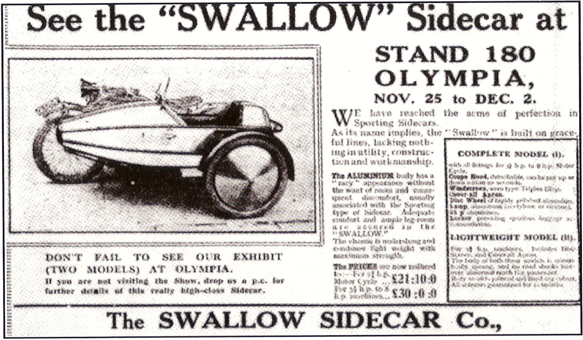 swallow sidecar 2