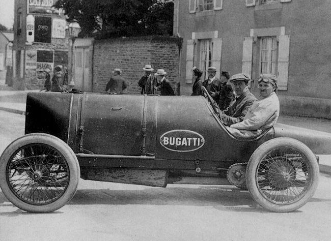 Founder of Bugatti cars, Ettore Bugatti