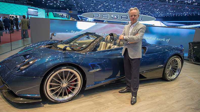 Horacio Pagani Founder of Pagani