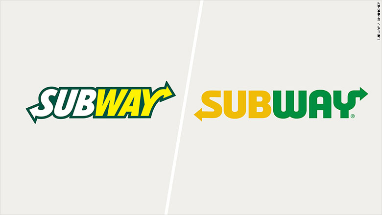 Subway's new logo