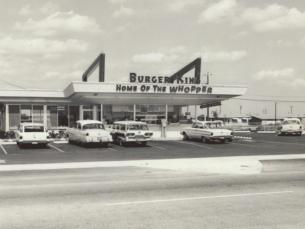 Old Burger King restaurant
