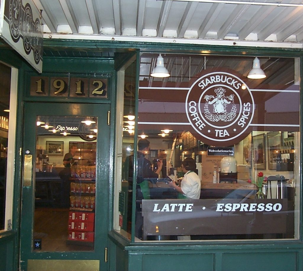 first ever Starbucks
