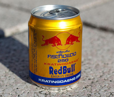 First version of Red Bull