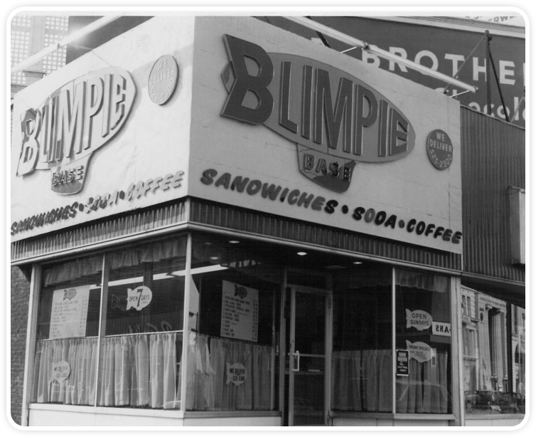 First Blimpie sandwich shop